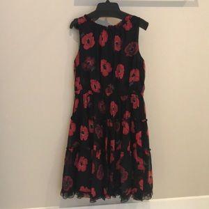 75f1497c5bb Kate spade silk poppy floral dress size 8 nwot